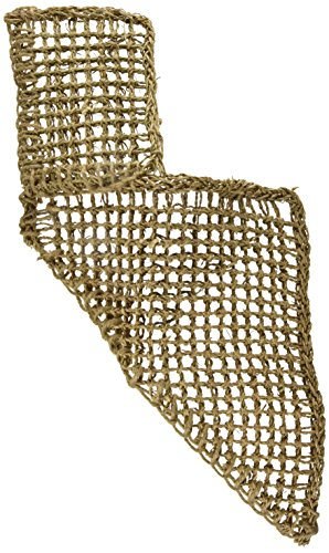 Penn Plax Lizard Lounger, 100% Natural Seagrass Fibers For Anoles, Bearded Dragons, Geckos, Iguanas, and Hermit Crabs Triangular 14 x 14 Inches
