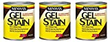 Minwax 660910000 Gel Stain, quart, Coffee (3-Pack)