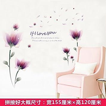 GOUZI Wand Papier Kreative Warme Idyllische Kleine, Frische Tapeten  Dekorative Wand Papier Ein Starkes Papier