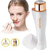 TANAAB Facial Hair Removal for Women Waterproof Sleek Painless Women's Facial Hair Remover Built-in LED Light