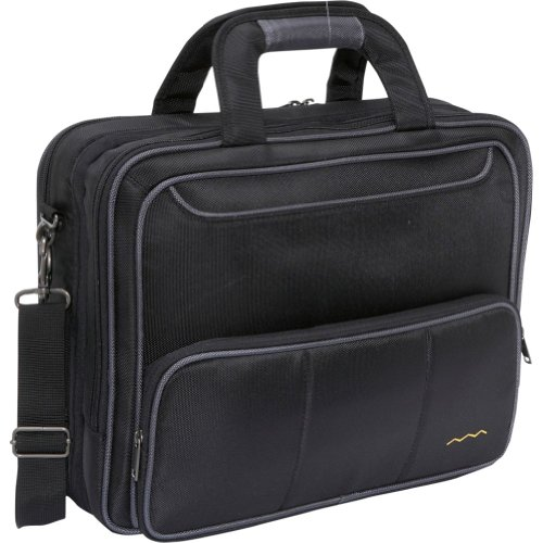 Higher Ground Tech Traveler – Checkpoint Friendly Laptop Bag (Black), Bags Central