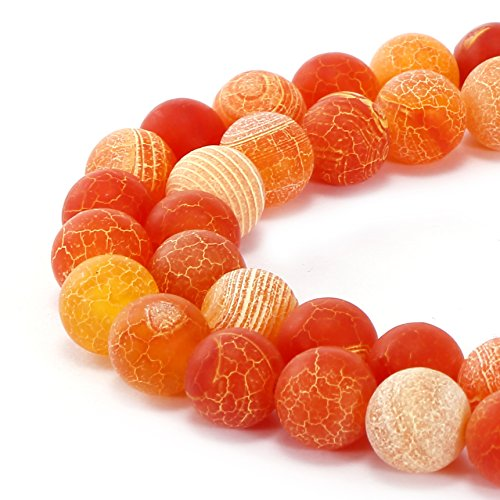 BRCbeads Gorgeous Natural Frosted Gemstone