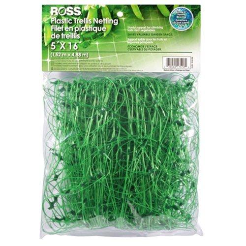 EASY GARDENER INC - Plastic Trellis Support Netting, 5-Ft. x 16-Ft.