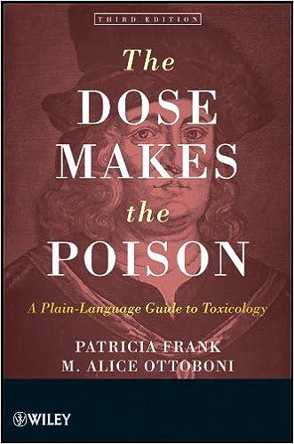 Descarga gratuita de libros electrónicos en tagaloThe Dose Makes the Poison: A Plain-Language Guide to Toxicology PDF FB2 iBook by Patricia Frank,M. Alice Ottoboni
