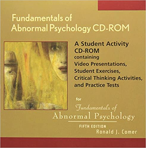 Amazon Fundamentals Of Abnormal Psychology A Student Activity
