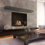 60'' Pale Rider Grey Mantel Shelf