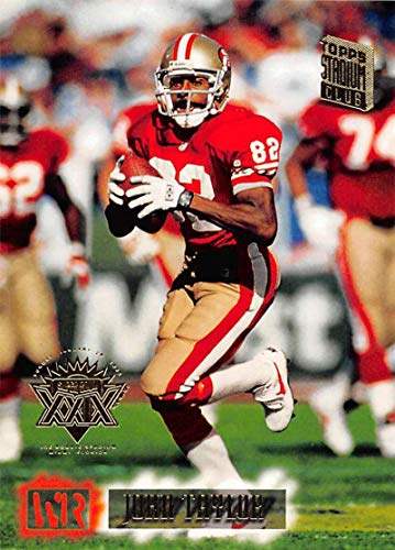 1994 Stadium Club Super Teams Super Bowl Football #145 John Taylor San Francisco 49ers Official NFL Trading Card From Topps