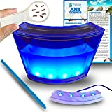 Ant Farm W/ LED Light. Enjoy A Magnificent Ecosystem. Great For Kids & Adults. The Best Ant Habitat W/ Enhanced Blue Gel. Evviva Educational & Learning Science Kits. Live Harvester Ants Not Included