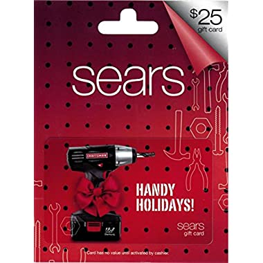 Sears Craftsman Holiday $25 Gift Card