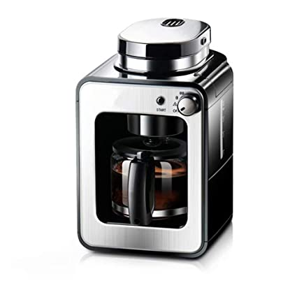 WY-coffee maker Máquina de café recién molida, pequeña máquina de café Estadounidense doméstica