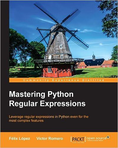 Kostenlose Downloads französischer Bücher Mastering Python Regular Expressions by Félix López PDF iBook PDB
