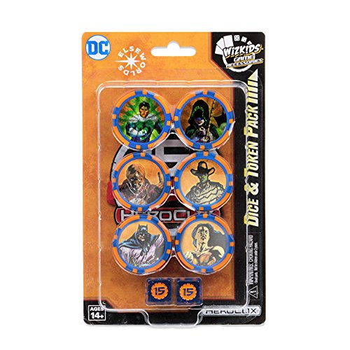 HeroClix: DC: 15th Anniversary Dice and Token Pack