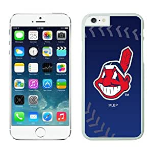 Cleveland Indians iPhone 6 Cases 3 White wood iphone 6 case-Hybrid Case for iPhone 6