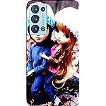 Joe Designer Printed Back Case Cover for Oppo Reno 6 Mobile (Multicolor) art164