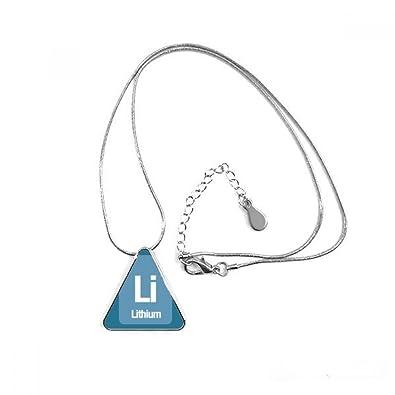 DIYthinker Li Lithium Chemical Element Science Triangle