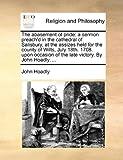 The Abasement of Pride, John Hoadly, 1140928430