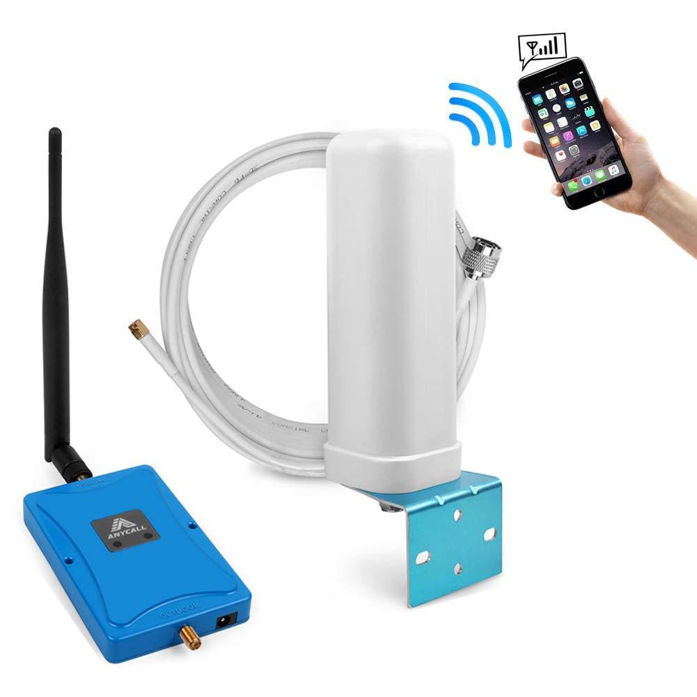 ANYCALL 3G Amplificador de Señal 900/2100MHz (Band 8/1) 70dB gsm WCDMA 2G/3G Amplificador de Señal Repetidor portátil repetidor: Amazon.es: Electrónica