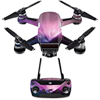 Skin for DJI Spark Mini Drone Combo - Spaced Out| MightySkins Protective, Durable, and Unique Vinyl Decal wrap cover | Easy To Apply, Remove, and Change Styles | Made in the USA