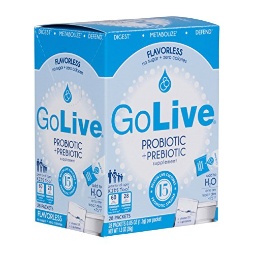 Golive Probiotic And Prebiotic Supplement Blend