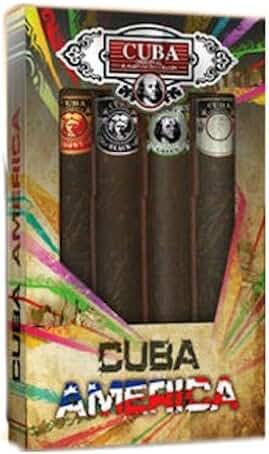 Cuba America Parfums Des Champs for Men, 4 Count