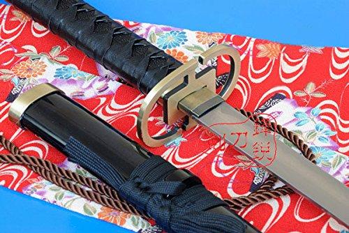 "S2625 ANIME BLEACH ICHIMARU GIN ZANPAKUTO SILVER GUNSLINGER SHINSO SWORD 40.7"""