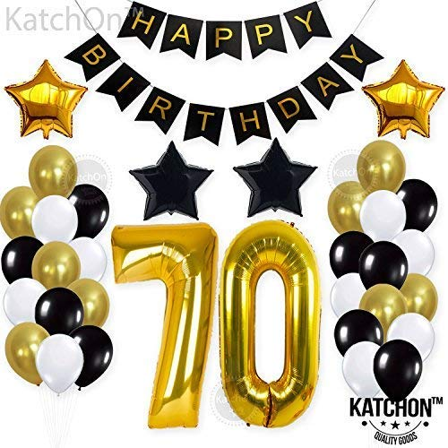 70th BIRTHDAY PARTY DECORATIONS KIT