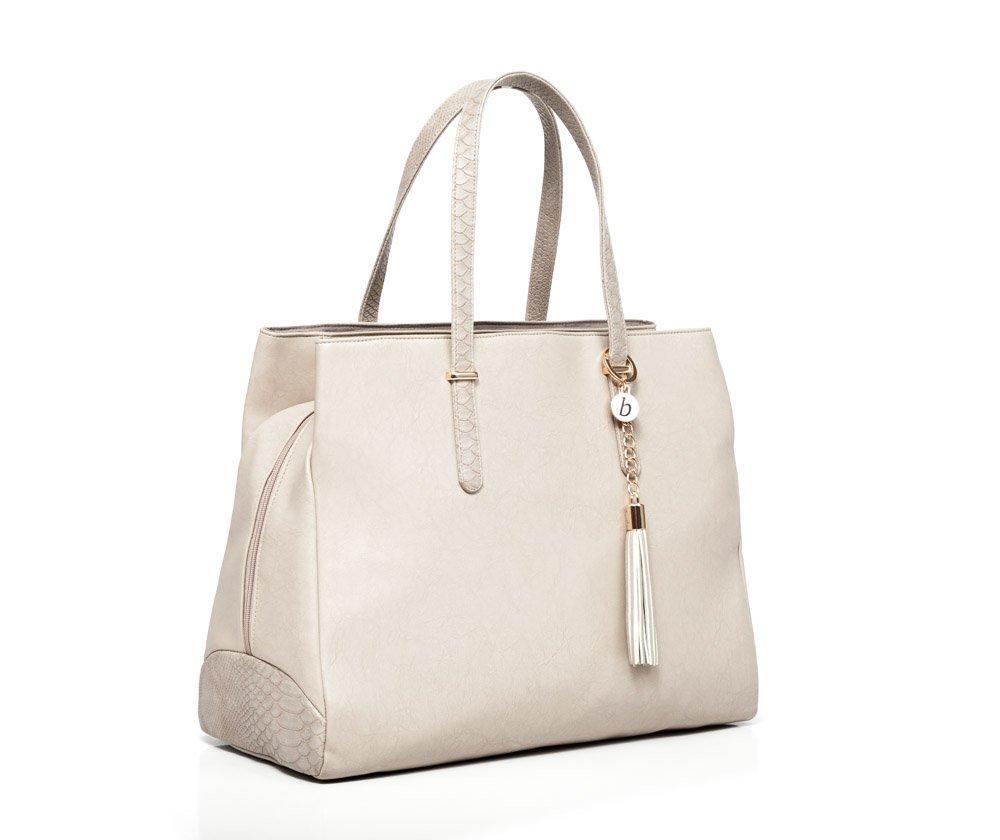 Baby Sense Melaine Mom & Baby Diaper Bag Handbag (Nude)