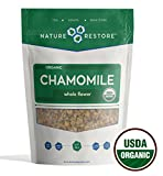 Nature Restore USDA Certified Organic Chamomile Tea Loose, Whole Flower, 4 Ounces, Bulk Review