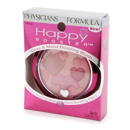 Physicians Formula Happy Booster Glow & Mood Boosting Blush, Natural 7324 0.24 oz (7 g)