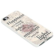 Harry Potter Happiness Quote for Iphone Case (iPhone 5/5s white)