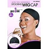 Ultra thin wig caps(BLACK X 2PCS)