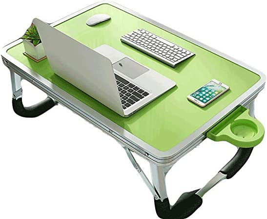 ZAQXSW Ordenador portátil para Hacer Cama Escritorio Mesa apilar ...