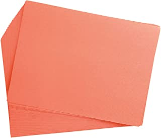 product image for Construction Paper, Yellow Orange, 12 inches x 18 inches, 50 Sheets, Heavyweight Construction Paper, Crafts, Art, Kids Art, Painting, Coloring, Drawing Paper, Art Project, All Purpose (Item # 12CPYO)