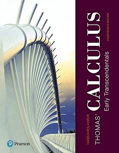 Thomas'calculus,Early Trans. Mymathlab
