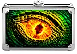 Vaultz Locking Supply Box, 8.25 x 5.5 x 2.5 inches, Embossed Dragon Eye (VZ00776)
