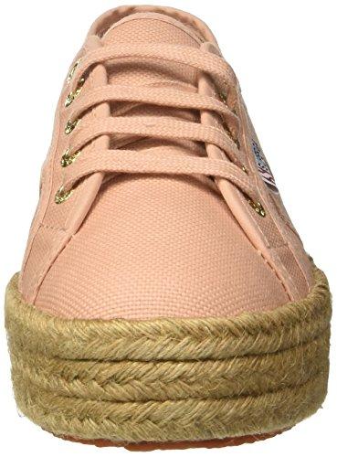 Pink Mahogany Superga Sneaker Damen G29 2730 Cotropew Rose BqfqIY