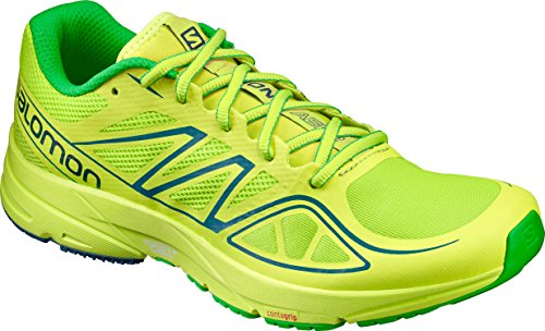 Price comparison product image Salomon Men's Sonic Aero, Lime Green/Lime Punch/Classic Green, 11.5 D(M) US