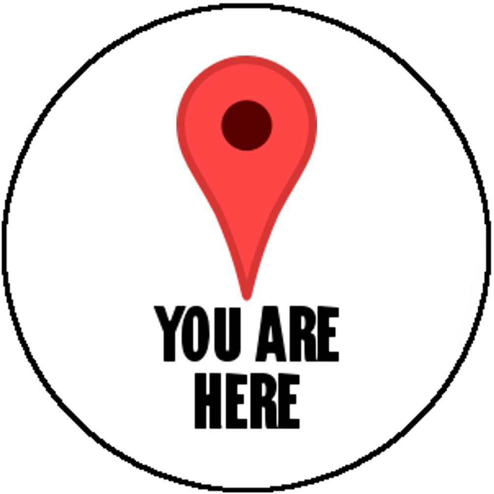 Amazon Badge Button Pin You Are Here Google Maps Pin Ironic
