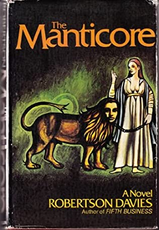 book cover of The Manticore