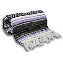 YogaAccessories (TM) Traditional Mexican Yoga Blanket
