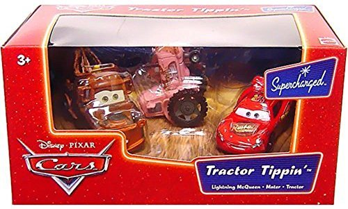 Disney Pixar Cars Supercharged Tractor Tippin