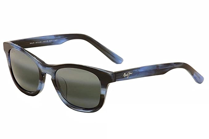 ff5f42227 Amazon.com: Maui Jim Unisex Ka'a Point Blue/Neutral Grey Sunglasses ...