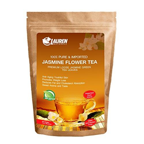 Loose Imported Jasmine Green Tea - Risk Free Full Money Back Guarantee