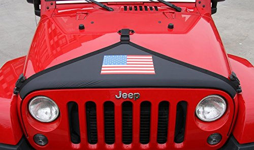 Santu Front Hood Cover for Jeep Wrangler JK/ 2007-2014(USA Flag)
