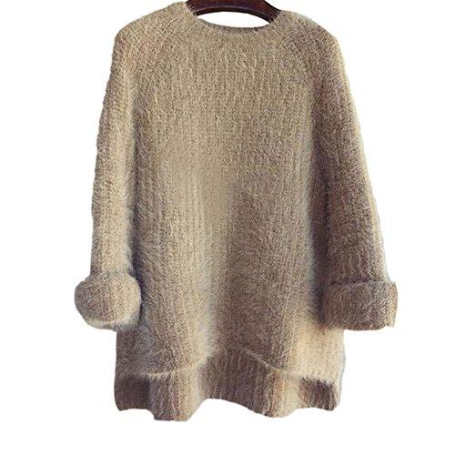 スウェット シャツ セーターを肥厚ダマン ニット セーター ニット ドレス ドレス セーター トップス