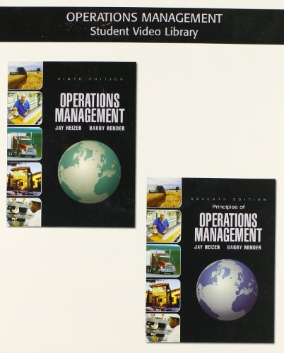 Student DVD - OM Library for Operations Management
