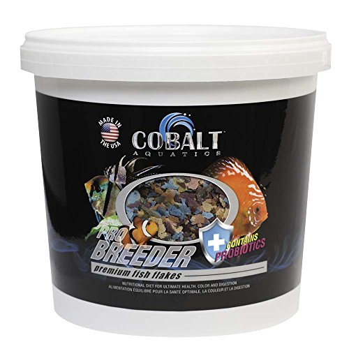 Cobalt Aquatics Pro Breeder Flake, 16 oz by Cobalt Aquatics