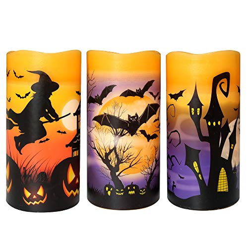 Wondise Halloween Flickering Flameless Decoration product image