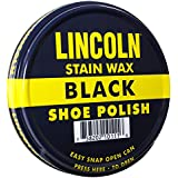 Lincoln Stain Wax Shoe Polish 3 Fl Oz (Selection of Colors)