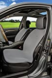 Sojoy Cooling Universal Four Season Fashionable Car Seat Cover for 2 Front Seats with 4 Pieces (Large Gray) offers